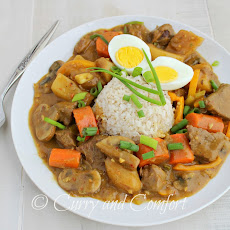 Japanese Beef and Vegetable Curry
