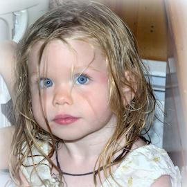 Big Blue Eyes by Janet Lyle - Babies & Children Toddlers ( todder, children )