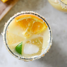 Coconut Creamsicle Margaritas