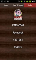 Screenshot of KPIG Online Radio