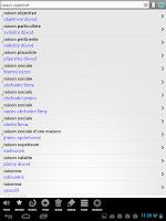 Screenshot of Francouzský slovník PCT+