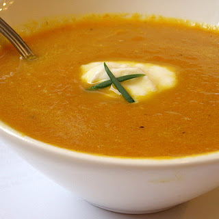 Cream of Carrot Soup recipe – 166 calories