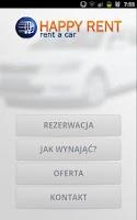 Screenshot of Happyrent, Rent a Car
