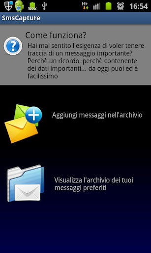 SMS Archive: Save messages