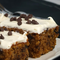 Chocolate Chip- Pumpkin Spice Bars