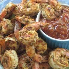 Volcanic Shrimp With Dipping Sauce
