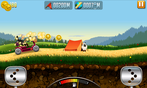 Angry Gran - Hill Racing Car - screenshot