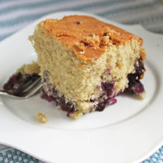 Gluten-Free Blueberry Muffin Cake
