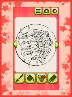 Food Coloring Book - screenshot