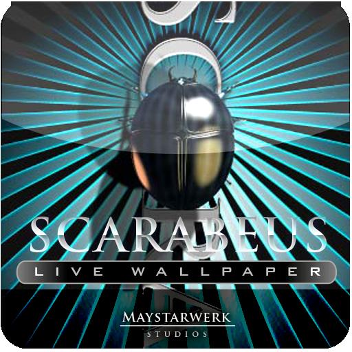 SCARABEUS live wallpaper LOGO-APP點子