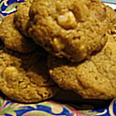 Orange Macadamia Nut Cookies
