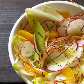 Radish, Enoki, Tangerine, and Avocado Salad From 'Feast'