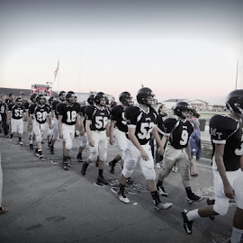 High School Traditions by Kimberly Havens-Lott - Sports & Fitness American and Canadian football ( football, miami trace, traditions, team, brothers )