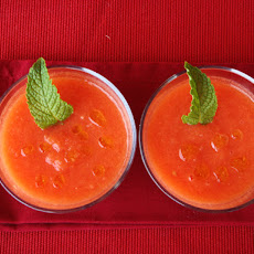 Watermelon and Tomato Gazpacho
