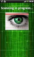 Screenshot of Eye Scanner Free