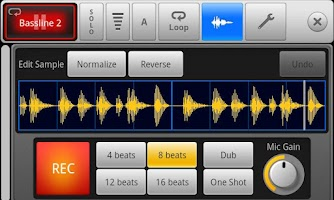 Screenshot of SPC - Music Drum Pad