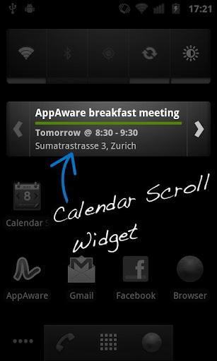 Calendar Widget - Month+Agenda Android App