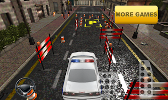 Screenshot of Police Car Parking