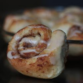 Cinnamon Rolls From Frozen Bread Dough - EASY