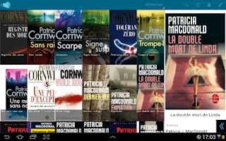 Screenshot of My books