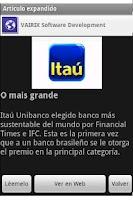 Screenshot of México Noticias