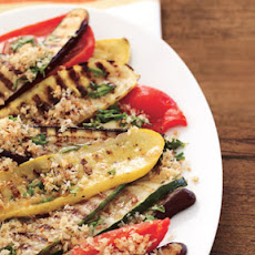 Spanish-Style Grilled Vegetables with Breadcrumb Picada