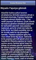 Screenshot of Rüya Tabirleri 2 (internetsiz)