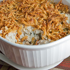 Turkey (or Chicken) and Green Bean Casserole