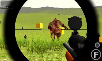 Screenshot of Zombie Hunter-Death Sniper