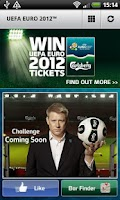 Screenshot of UEFA EURO 2012 TM by Carlsberg