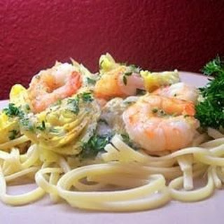 Shrimp and Artichoke Linguine