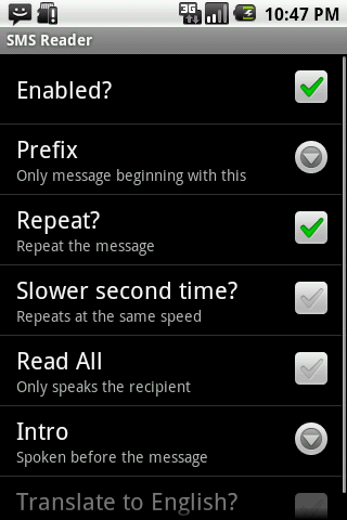 SMS Translate and Read Demo