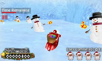 Screenshot of Santa Claus Scooter