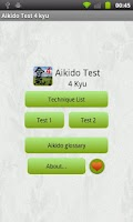 Screenshot of Aikido Test 4 kyu