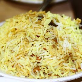 Biriyani by Ansari Joshi - Food & Drink Plated Food ( food, yummy, delicious, biriyani, delicacy )