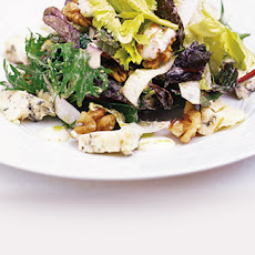 Stilton, Walnut And Chicory Salad