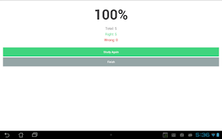 Screenshot of Study Flashcards for Students