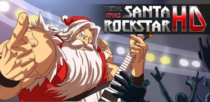 Santa Rockstar игры и программы для смартфонов и планшетов на Android - поп