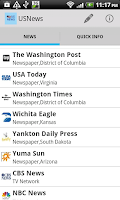 Screenshot of USNewspaper