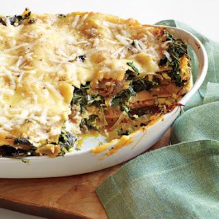 Spinach Lasagna Epicurious Recipes