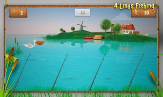 Screenshot of 4-lines fishing