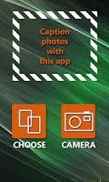 Screenshot of Cap That App - caption it!