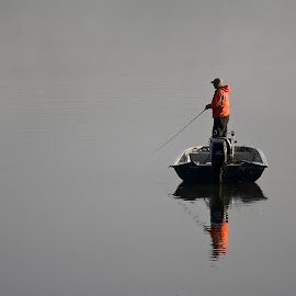 Fog Fishing by Rod Schrader - Sports & Fitness Other Sports