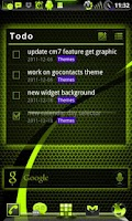 Screenshot of GOWidget SulphurYellowICS-Free