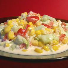 Creamy Corn or Pea Salad