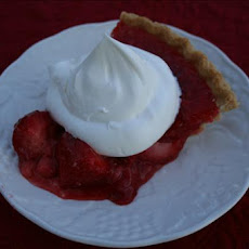 Fresh Strawberry Pie Ala Rose