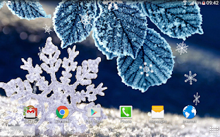 Screenshot of Winter Live Wallpaper