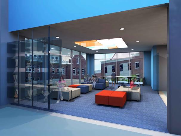 UNIVERSITY OF FLORIDA RINKER SCHOOL BUILDING CONSTRUCTION LOBBY RENOVATION