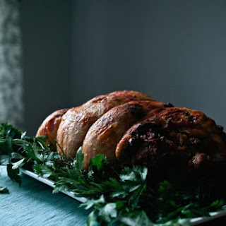 Turkey Roulade with Sausage Stuffing