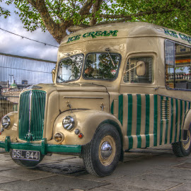 Ice Cream! by Stephen Hall - Transportation Other ( old, van, vintage, ice cream, ices )